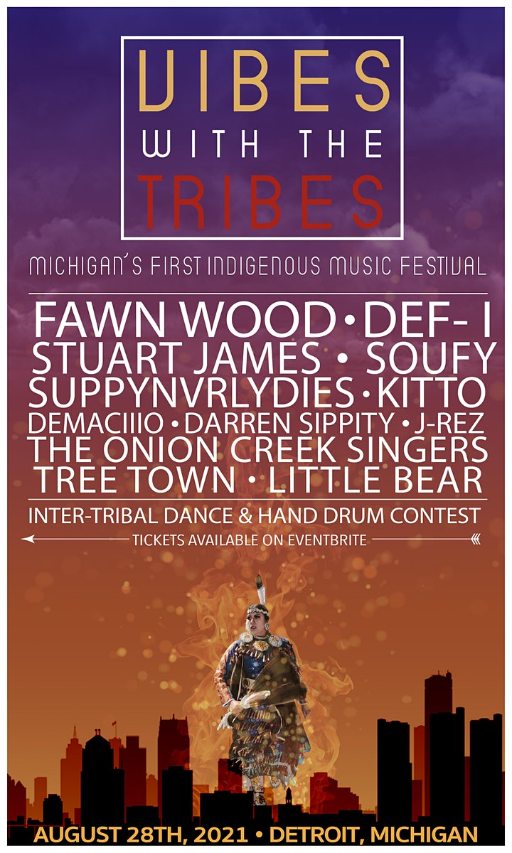 VIBES WITH THE TRIBES || Michigan's First Indigenous Music Festival image