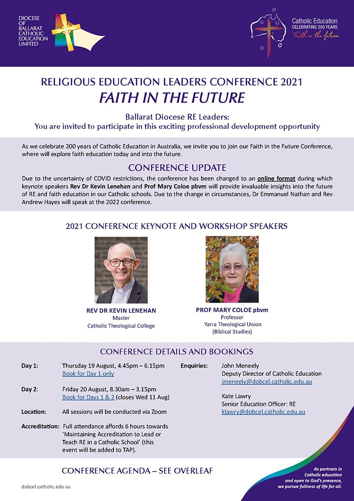 Religious Education Leaders Conference image