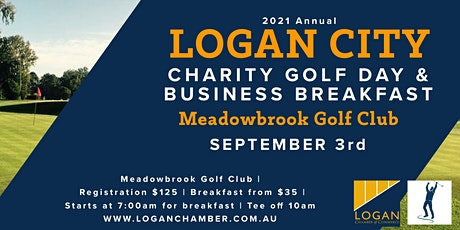 Logan City Charity Golf Day and Business Breakfast tickets