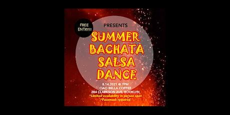 LATIN DANCE! BACHATA & SALSA BEGINNERS FREE WORKSHOP tickets