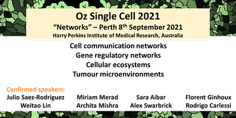 Oz Single Cell - PERTH - September 8th tickets