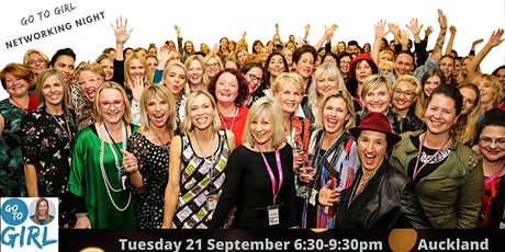 Go to Girl Networking Night - Auckland tickets