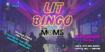 Lit Bingo 8/30