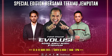 Seminar Evolusi (21 & 22 Ogos 2021) tickets
