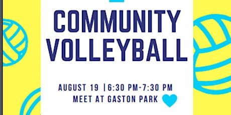 Community Volleyball tickets