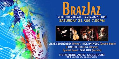 BrazJaz TRIO at the Coolroom tickets