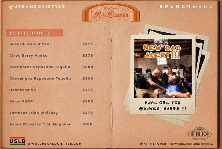 R&Brunch presented by Urban Society Long Beach image