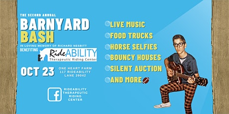 The Second Annual Barnyard Bash tickets
