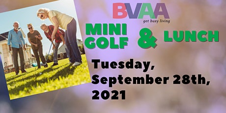 BVAA September Mini Golf Outing tickets