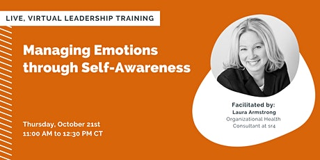 Managing Emotions through Self-Awareness tickets