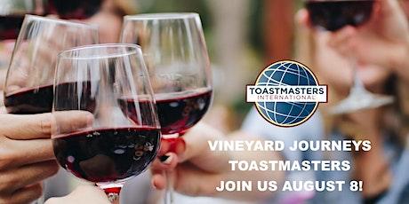 Vineyard Journeys Toastmasters Meeting biglietti