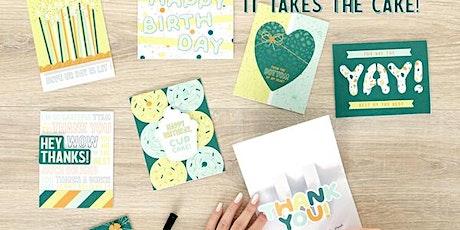 Creative Memories - Card Making Class tickets