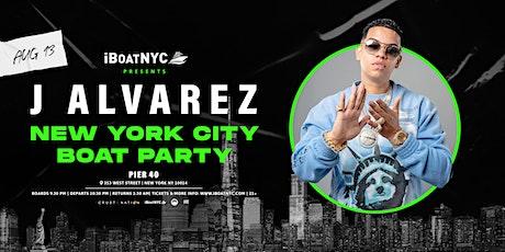J ALVAREZ  on the Infinity NYC Yacht Cruise Boat Party tickets