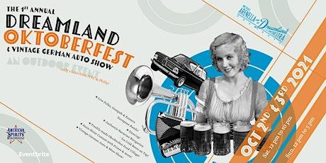 1st Annual Dreamland Oktoberfest tickets