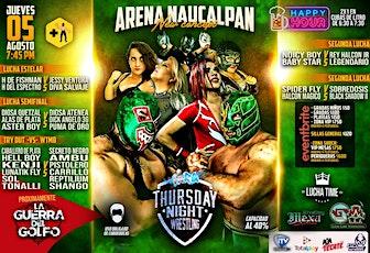 Lucha Libre IWRG Thursday Night Wrestling 2021 boletos