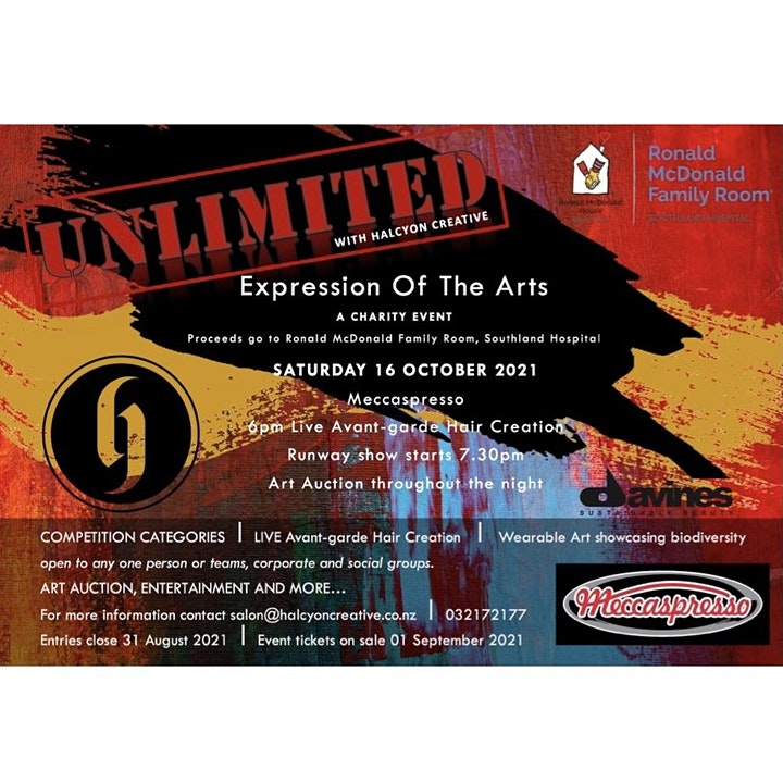 """Unlimited """"expression of the arts"""" image"""