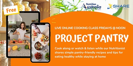 Project Pantry: Free Virtual Healthy Eating Cooking Classes tickets