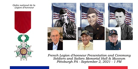 French Legion of Honor Presentation and Ceremony tickets