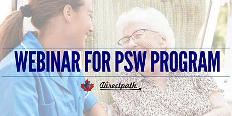 WEBINAR FOR CANADIAN PSW tickets