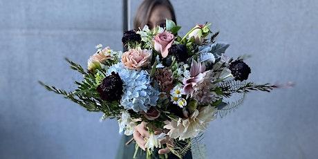 Hand-tied bouquet workshop tickets