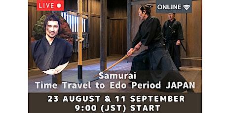 Japan - Learn About Samurai Live from Nikko Edo Wonderland tickets