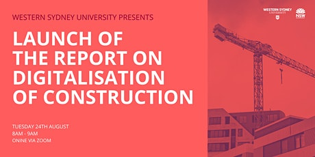 Launch of the report on Digitalisation of Construction billets