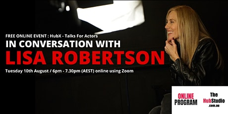 In Conversation With Lisa Robertson tickets