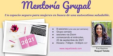 Mentoria Grupal 2021 para mujeres boletos