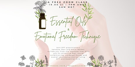 Essential Oils and Emotional Freedom Technique tickets