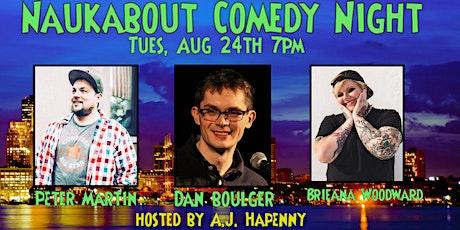 Naukabout Comedy Night tickets