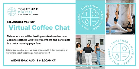 St. Louis Chapter Virtual Morning Coffee billets