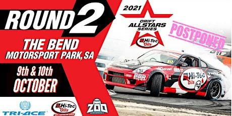 Hi-Tec Drift Allstars 2021 - Round 2 - The Bend SA tickets