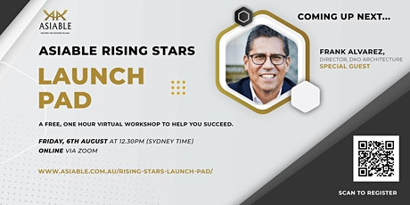 Asiable Rising Stars Launch Pad - Weekly Virtual Workshop tickets