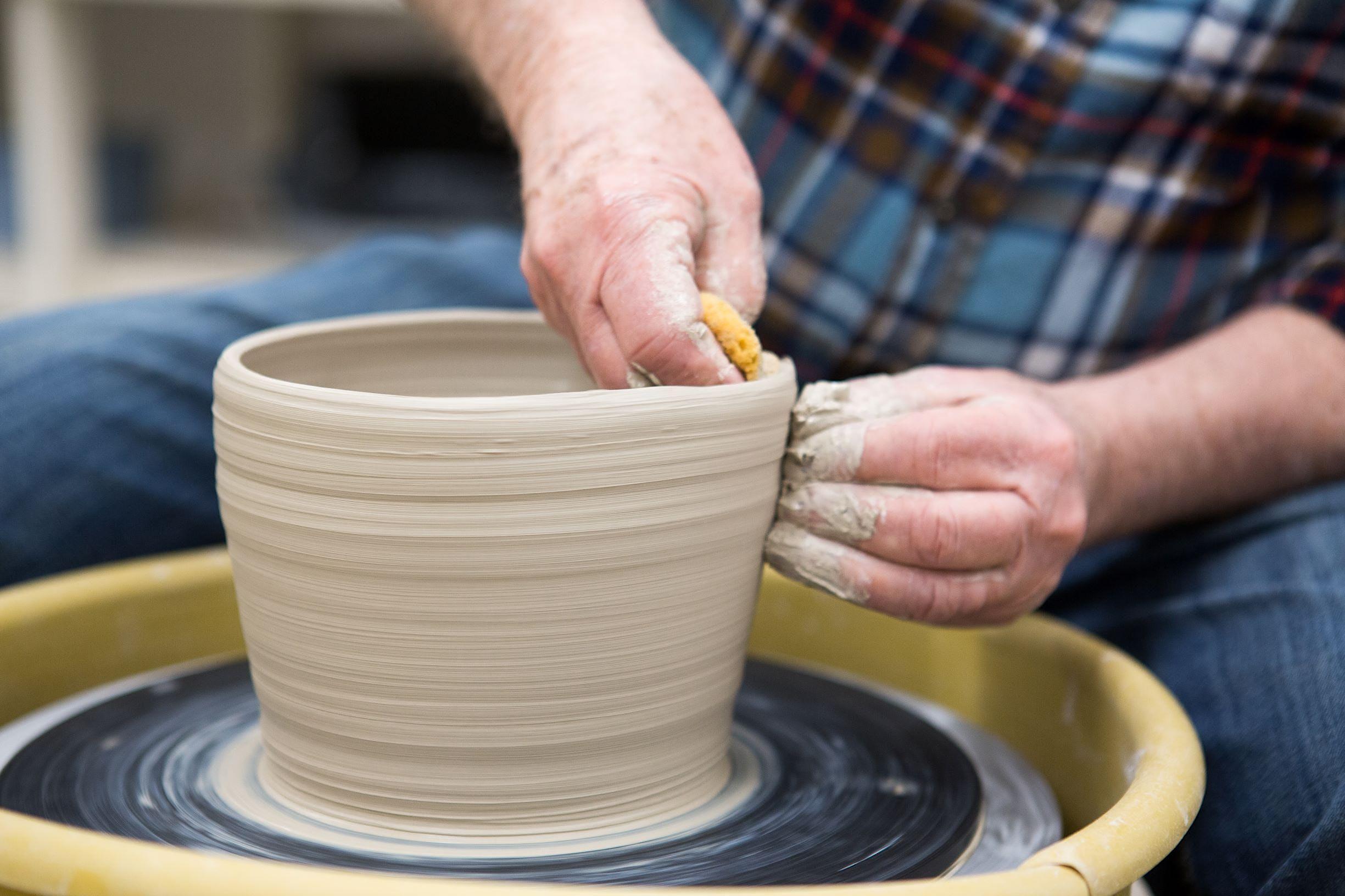 Intermediate & Advanced Wheel Throwing with Steve Kammerer (Adult-Ceramics)