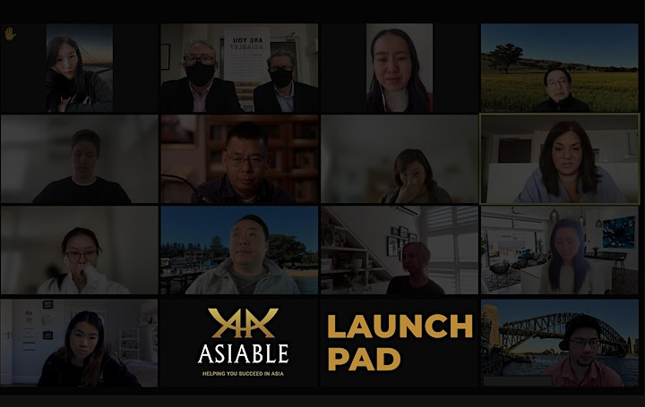 Asiable Rising Stars Launch Pad - Weekly Virtual Workshop image