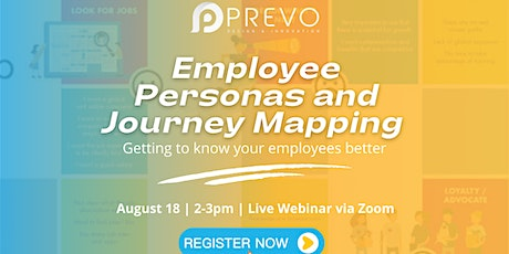 Employee Personas and Journey Mapping tickets