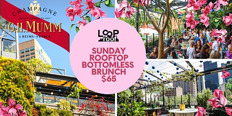 Sunday Rooftop Bottomless Brunch Sessions tickets