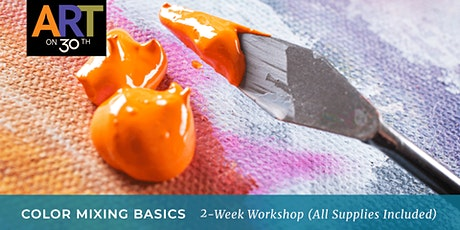 Color Mixing Basics 2-Week Workshop with Kristen Guest tickets
