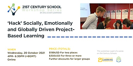 'Hack' Socially, Emotionally and Globally Driven Project-Based Learning tickets
