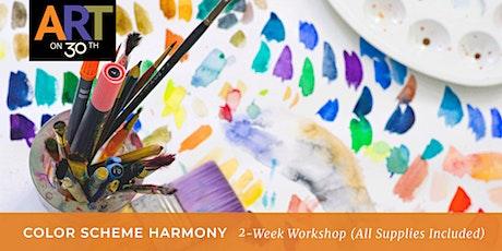 Color Scheme Harmony 2-Week Workshop with Kristen Guest tickets