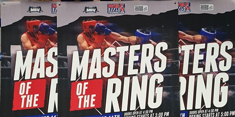 Masters of the Ring - Boxing Show tickets