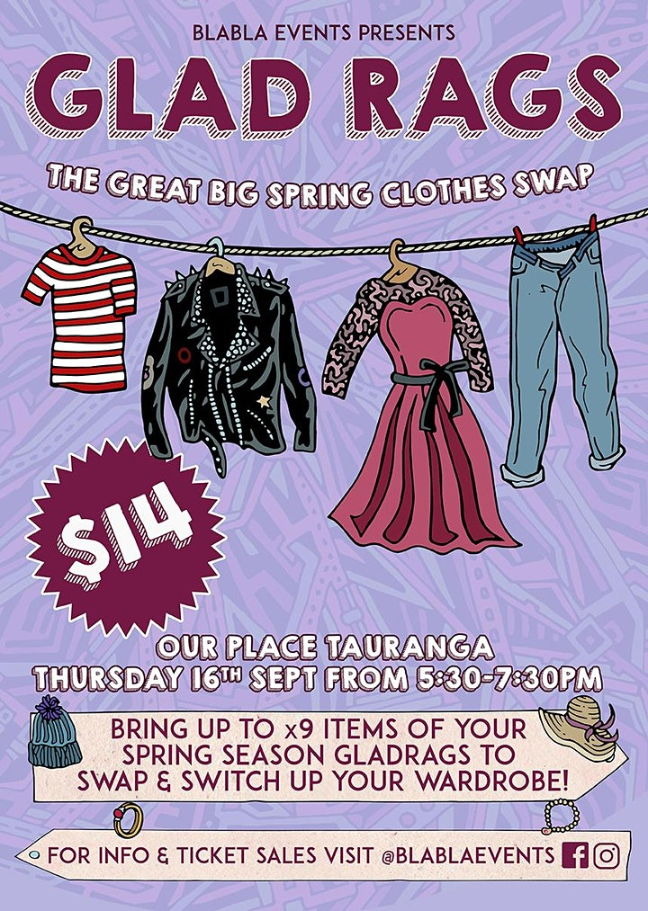 Gladrags - The Great Big Spring Clothes Swap image