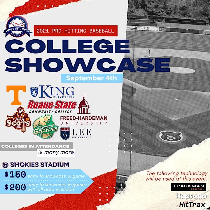 Pro Hitting College Baseball Showcase image