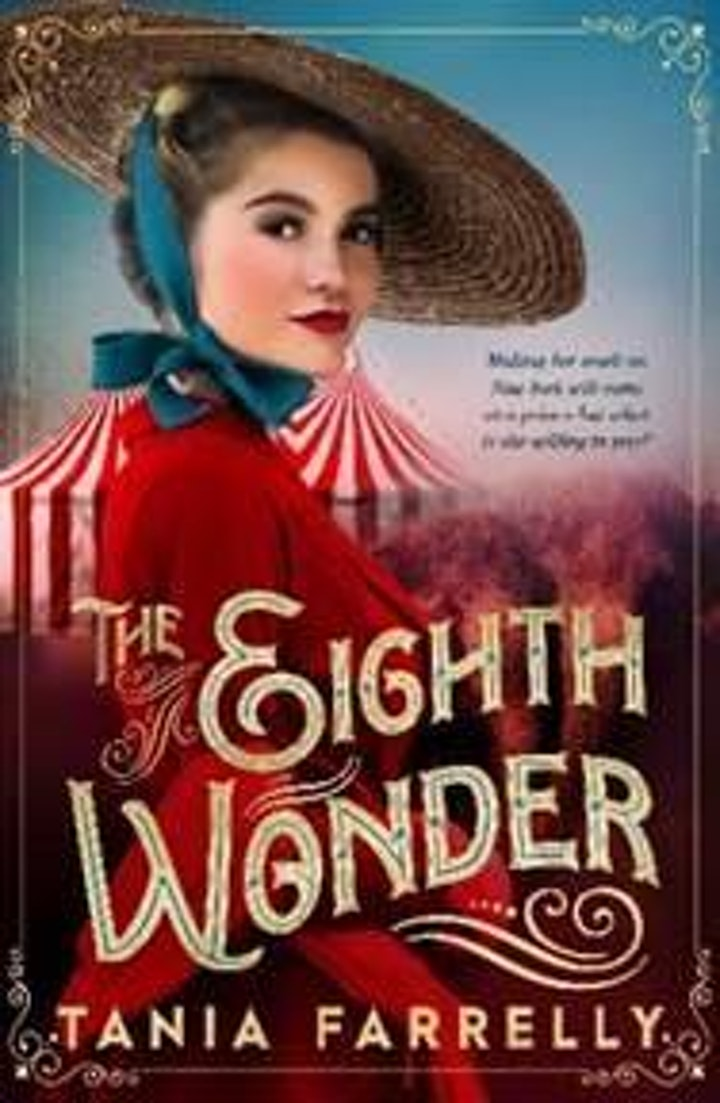 Online Author Talk:  'The Eighth Wonder' with Tania Farrelly image