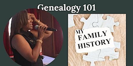 Genealogy 101 : My Family in History tickets