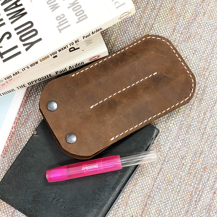 Kaweco Leather Pen Pouch Making Workshop image