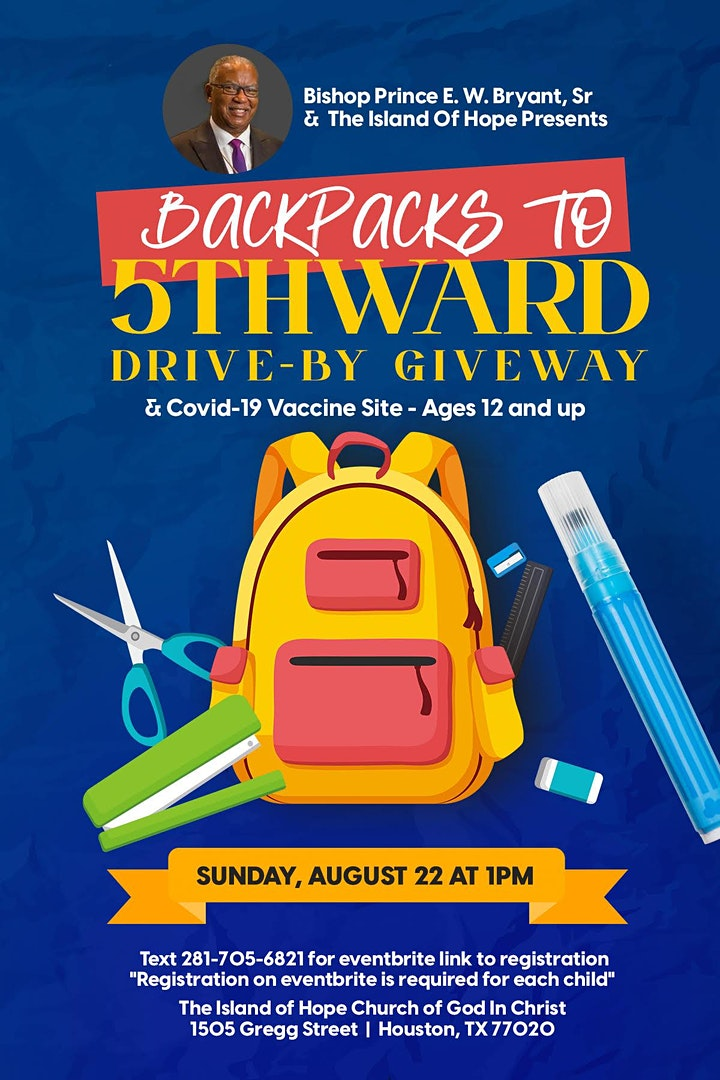 12th Annual Backpacks to 5th Ward image