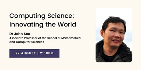 Computing Science: Innovating the World tickets