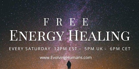 FREE Energy Healing Session tickets