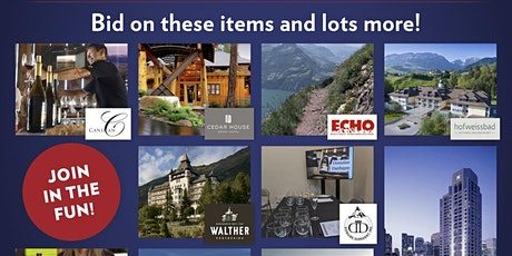Online Auction - Swiss National Day July 30 - August 8, 2021 tickets